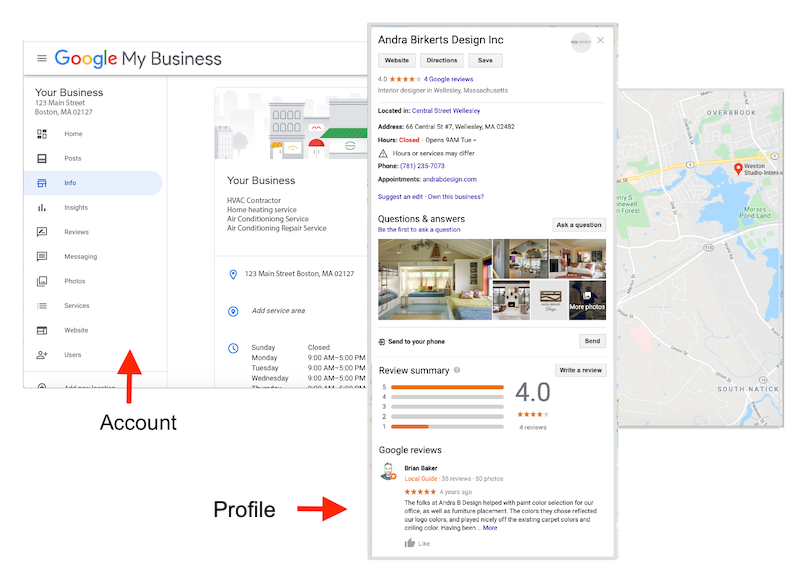 Google My Business management Services